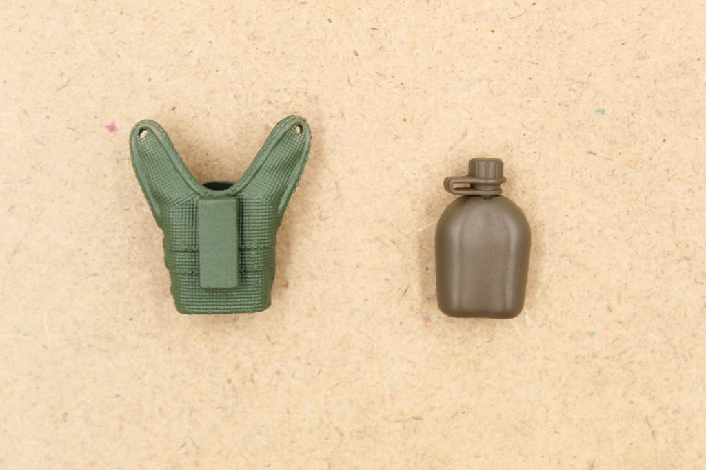 1/12 - Crazy Figure Shared - Canteen & OD Green Molded Pouch