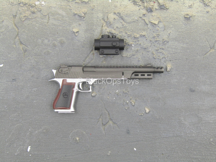 Elite Firearms Series - .50 Cal Extended Barrel Pistol w/Sight