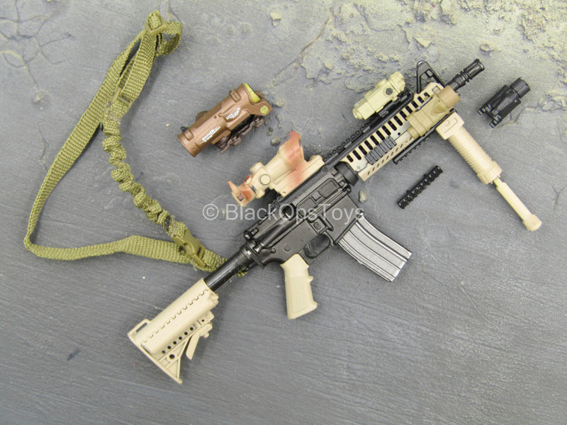 US Navy - EOD - Black & Tan Short Barrel M4 Set
