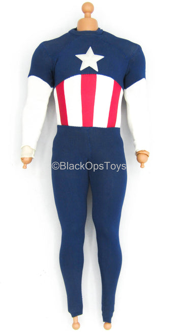 Captain America - Star Spangled Man - Male Dressed Body