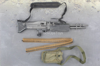 M60 Shorty Machine Gunner - M60 Light Machine Gun