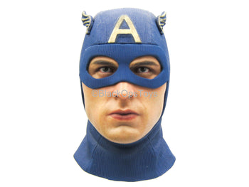 Captain America - Star Spangled Man - Male Masked Head Sculpt