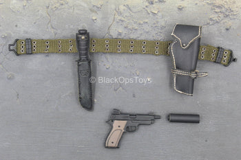 M60 Shorty Machine Gunner - MK22 Hush Puppy Pistol w/Sheath