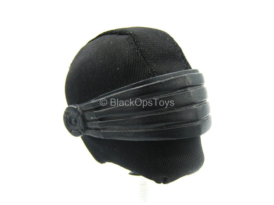 Custom Male Snake Eyes Head Sculpt w/Neck Peg