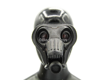 WW2 - Kerberos Panzer Jäger - Gas Mask w/Red Lens