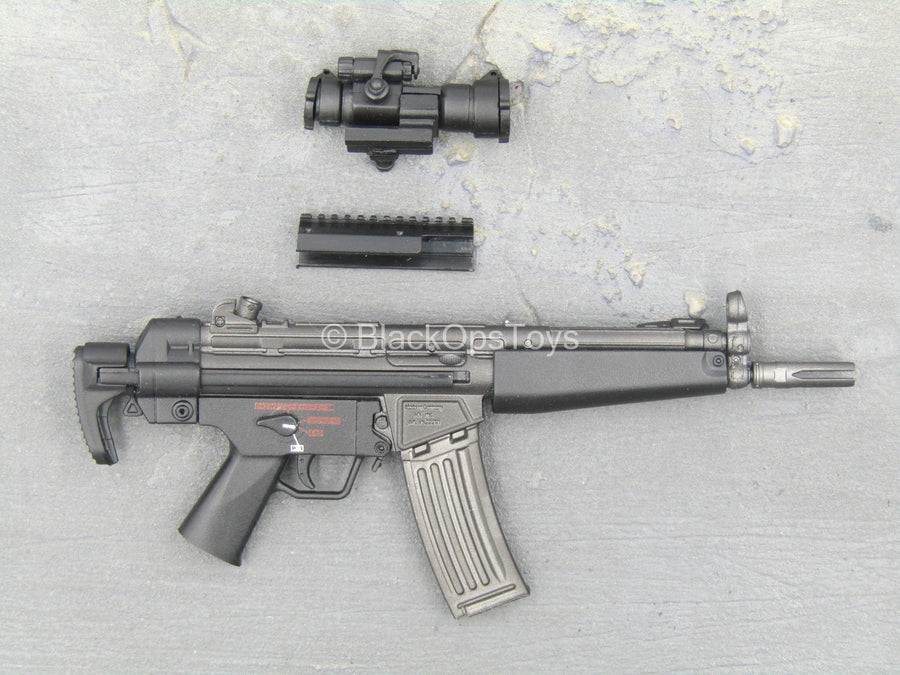 SDU - Assault Team Leader - Black HK53 Rifle w/Extendable Stock
