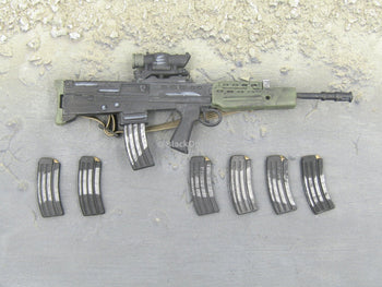 T-GORE - British L81 Assault Rifle w/x6 Extra Ammo Mags