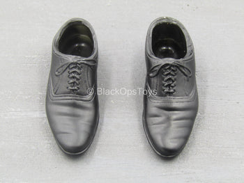 The X-Files - Fox Mulder - Black Dress Shoes (Foot Type)