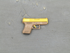 Club 3 - Peak Chen - Brown & Gold Like Pistol