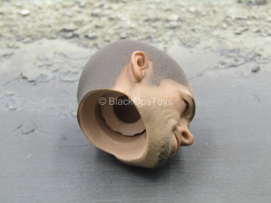 Fighter - Male Head Sculpt (Shaved)
