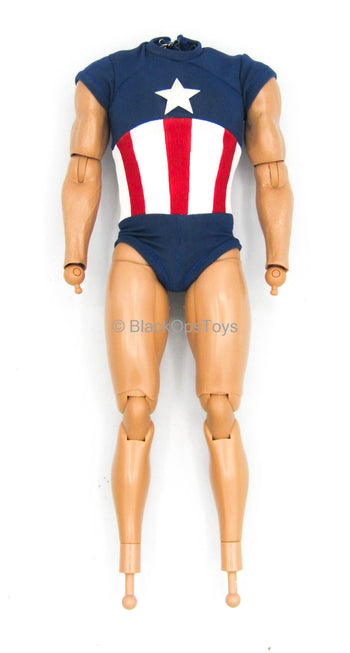Captain America (Rescue) - Male Base Body w/Shirt