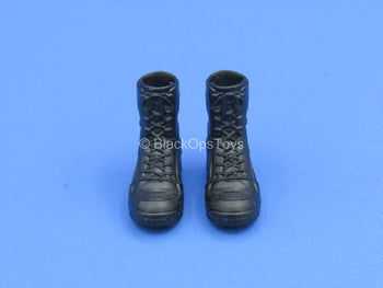 1/12 - Custom - Female Black Desert Storm Boots (Peg Type)