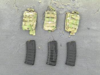 Navy Seal - Rifle Mag Pouch(x3) & Magazine(x3)