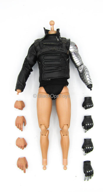 Captain America Winter Soldier - Male Body w/Robotic Arm & Hand Set