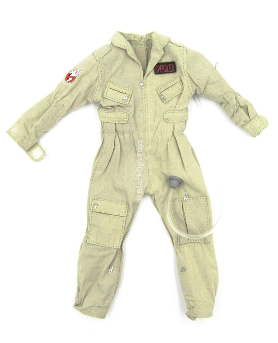 GHOSTBUSTERS  Egon Spengler Tan Uniform