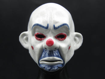 The Joker Bank Robber Ver. - White Clown Mask