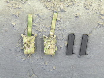 Navy Seal - Pistol Mag Pouch(x2) & Magazines(x2)