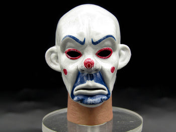 The Joker Bank Robber Ver. - Male Clown Masked Head Sculpt