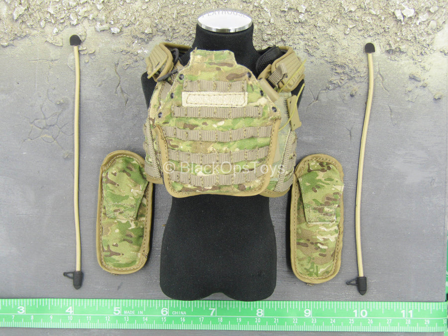US Army FCS Testing Team - Multicam Combat Vest w/Hydration Packs