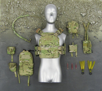 Navy Seal - Multicam Chest Rig & Accessory Set
