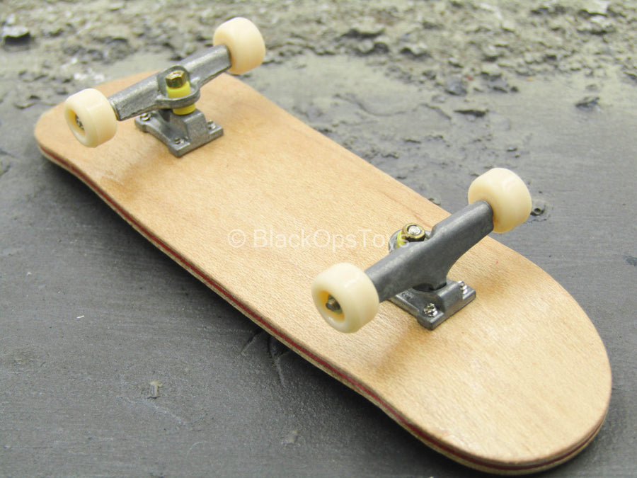 Skate - Wood & Metal Skate Board Set w/Wheels & Trucks