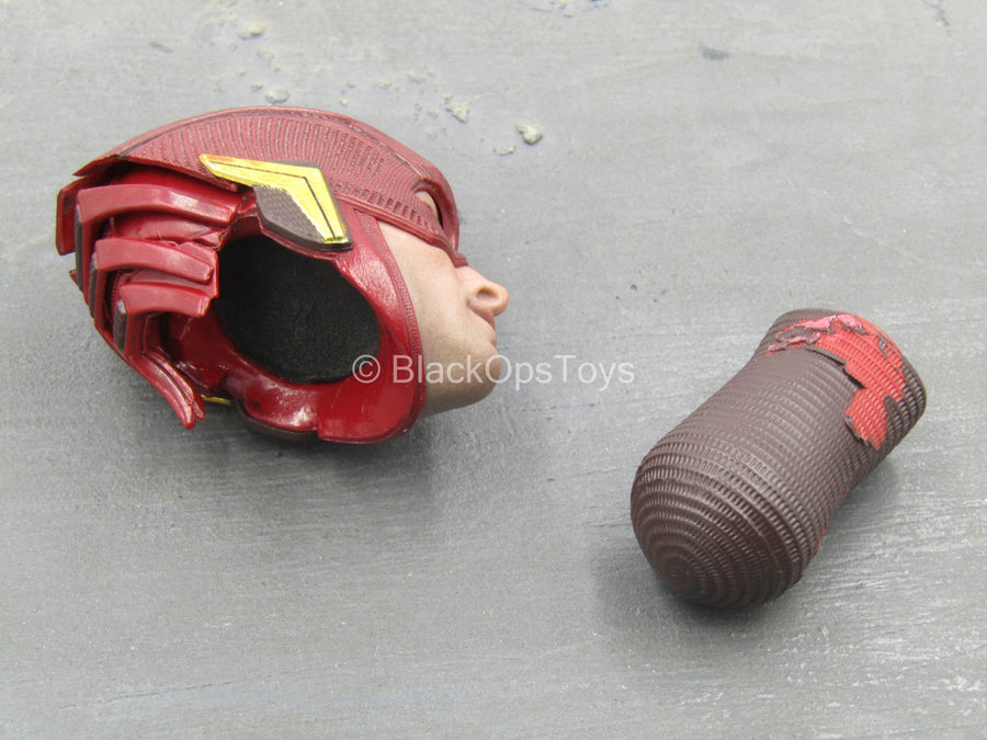 Justice League - The Flash - Male Masked Head Sculpt
