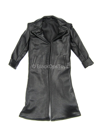 The Joker Cursed Clown - Black Leather Like Coat
