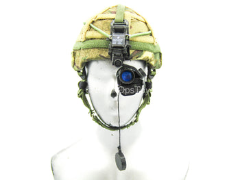British Army - Afghanistan - MTP Camo Helmet w/NVG Set