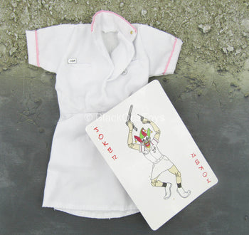 The Joker - Nurse Version - White Gown w/1:1 Scale Joker Card
