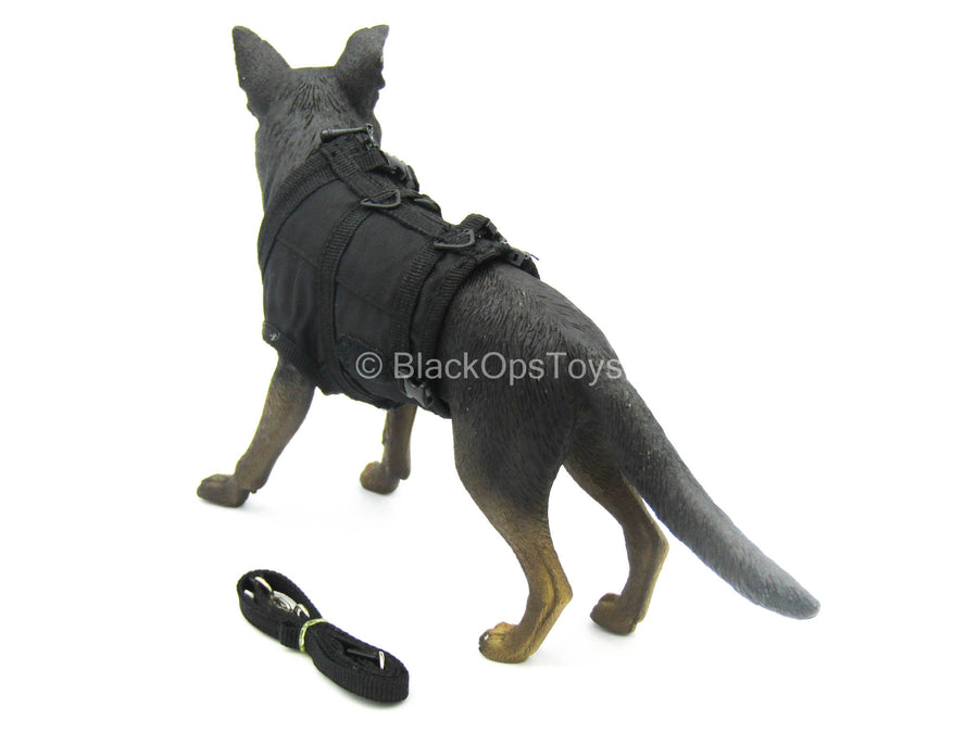 U.S. Navy Seal - German Shepherd w/Black Combat Vest