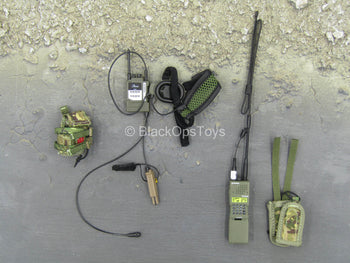 British Army - Afghanistan - Communications Set w/Pouches