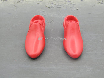 Dracula Red - Red Shoes (Peg Type)