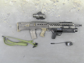 British Army - Afghanistan - SA80 Assault Rifle w/Grenade Launcher