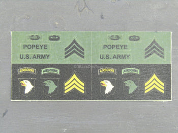 US Air Force - Sgt Popeye Patch Set