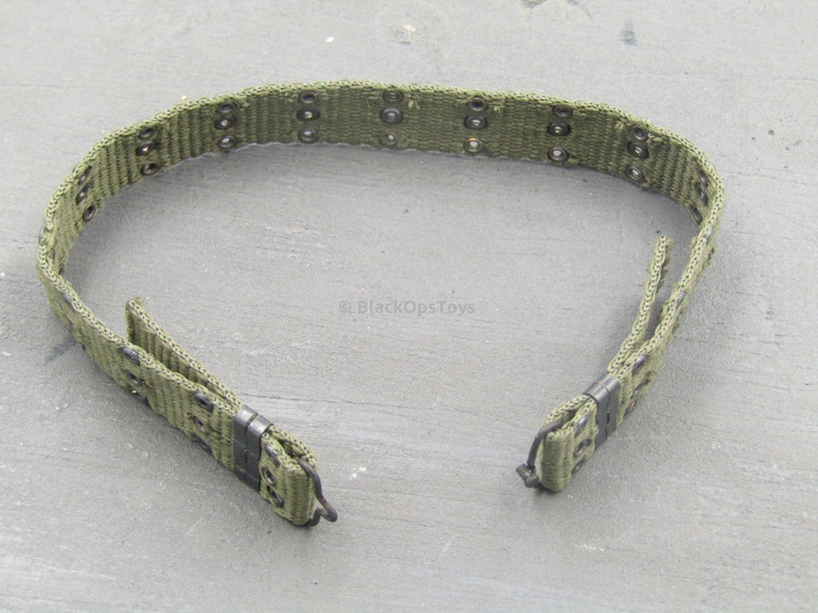 UNIFORM EX - OD Green Rivet Belt (Vietnam Era)