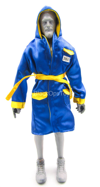 Olympic - Mike Tyson - Blue & Yellow Robe