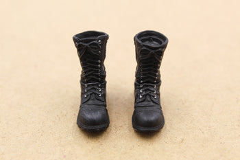 1/12 - Ghostbusters - Black Uniform Boots (Peg Type)