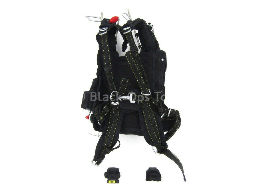 Navy HALO Jumper - Working Packed Parachute Set