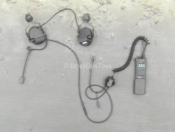 LAPD SWAT - Black Radio w/Head Set