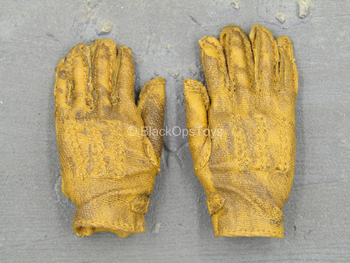 WWII - SSGT Donald - Tan Weathered Gloves