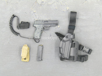 US Navy - SEAL Team Ten - P226 Pistol w/Drop Leg Holster