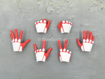 Spiderman - Advanced Suit - Red & White Gloved Hand Set (Type 1)