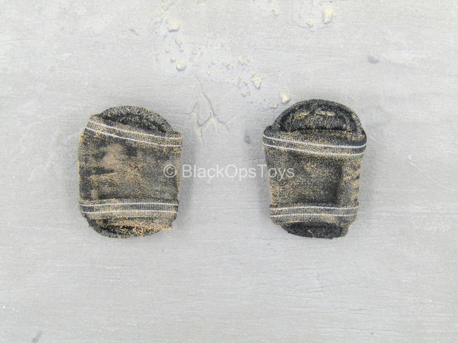 US Navy - SEAL Team Ten - Black Weathered Knee Pads