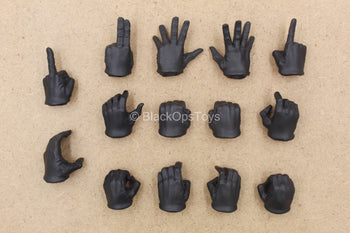 1/12 - Gomez The Roach - Black Gloved Hand Set (x14)