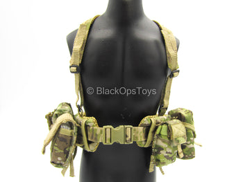 US Army - Afghanistan - Jude Law - Multicam MOLLE Harness w/Pouch Set