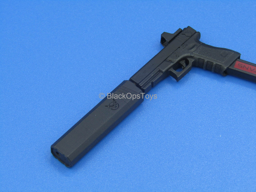 Custom - Black 9mm Pistol Suppressor