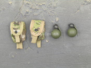US Army - Afghanistan - Jude Law - Grenades w/Pouches