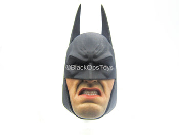 Arkham City - Batman - Male Masked Head Sculpt w/Mouth Piece