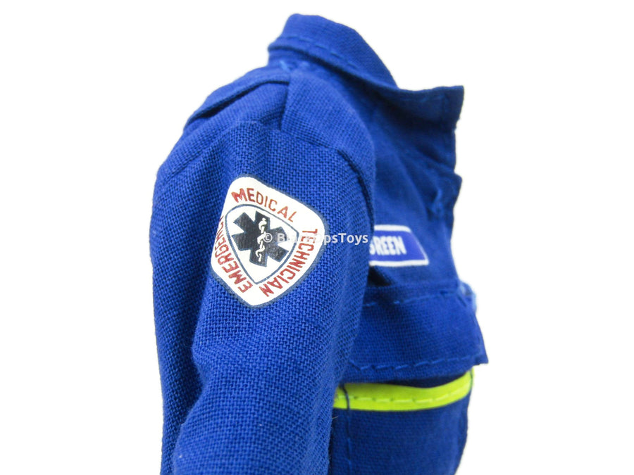 America's Finest Emergency Medical Technician Blue Jumpsuit