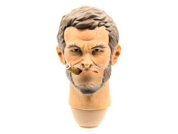 Redhead Denny - Male Head Sculpt w/Removable Cigar